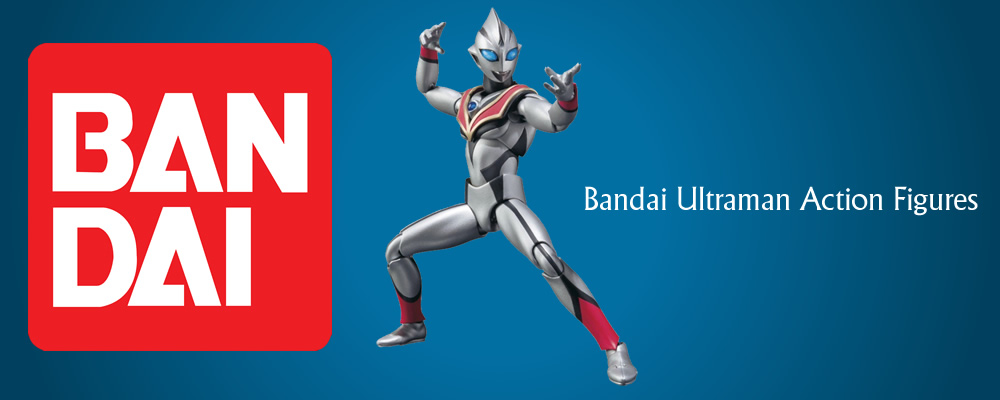 Bandai Ultraman Action Figures